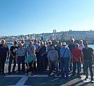 ביקור נגדים בבסיס חיפה